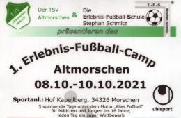 Erlebnis-Fußball-Camp 2021