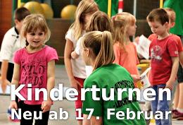 Das Kinderturnen startet am Samstag, 17. Februar in der Turnhalle in Altmorschen